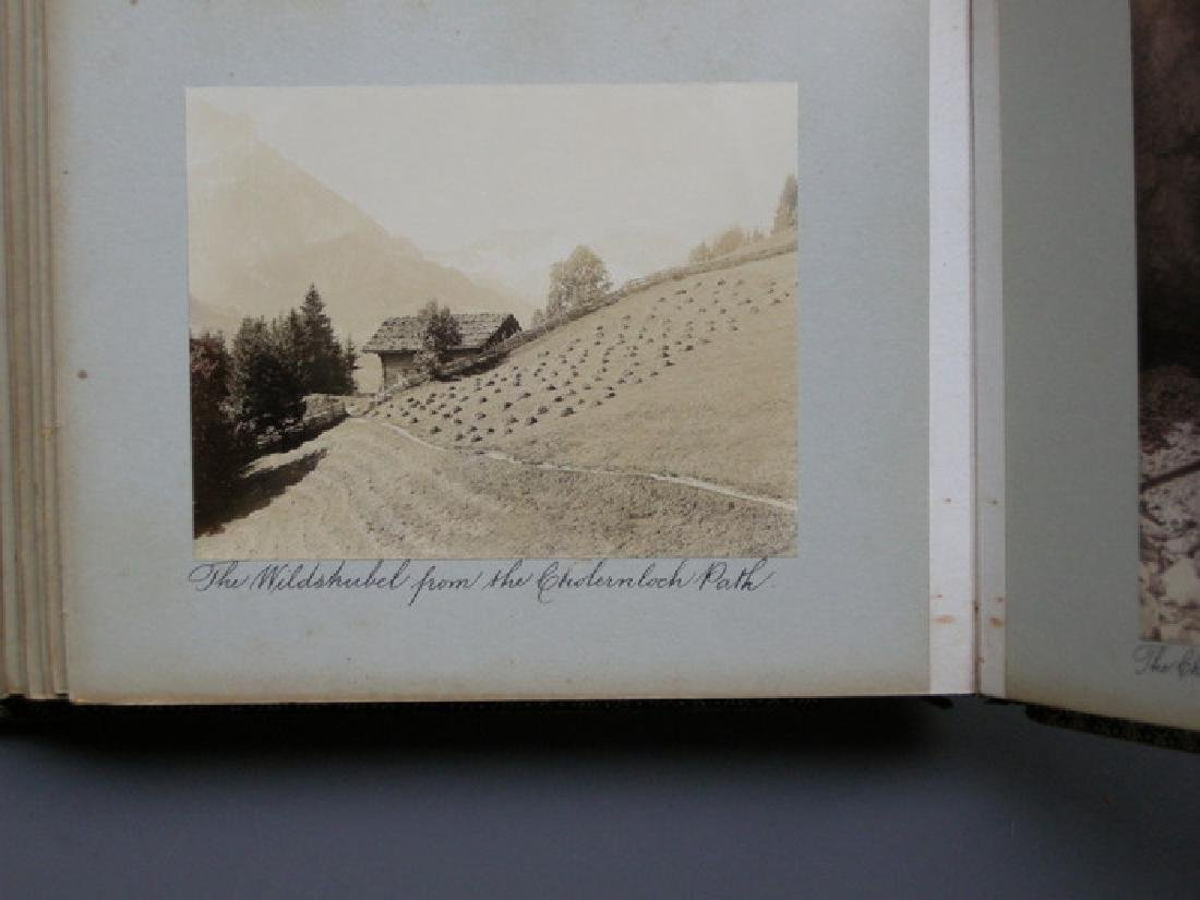 Photograph Album of Adelboden. 1902 - 3