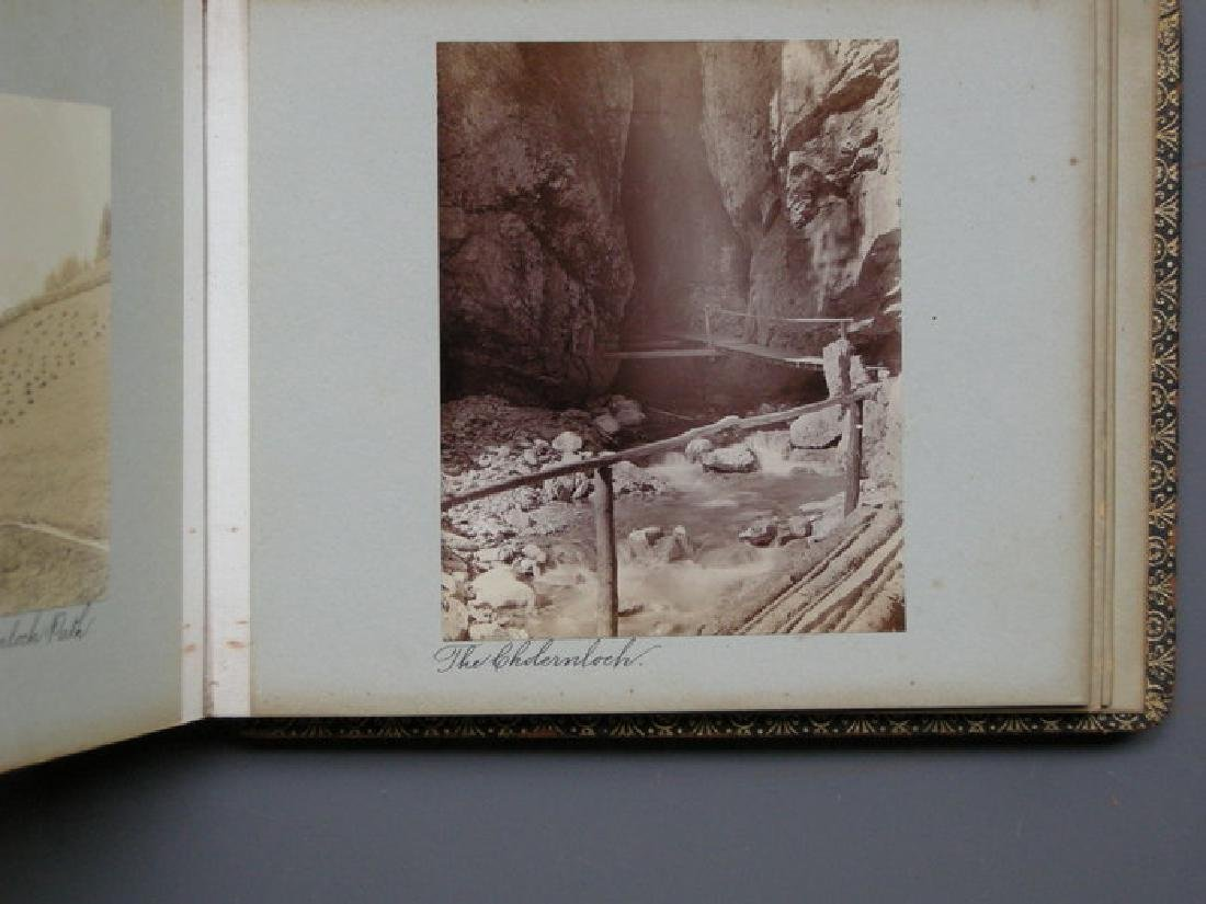 Photograph Album of Adelboden. 1902 - 4