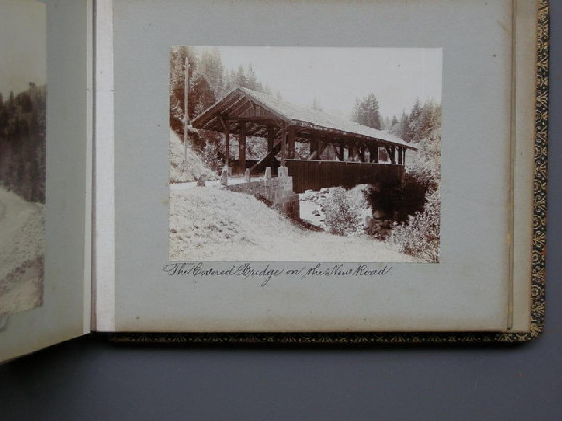 Photograph Album of Adelboden. 1902 - 5