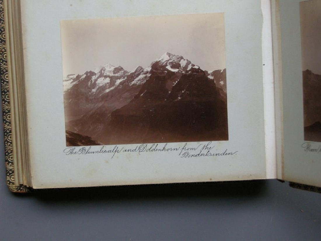 Photograph Album of Adelboden. 1902 - 6