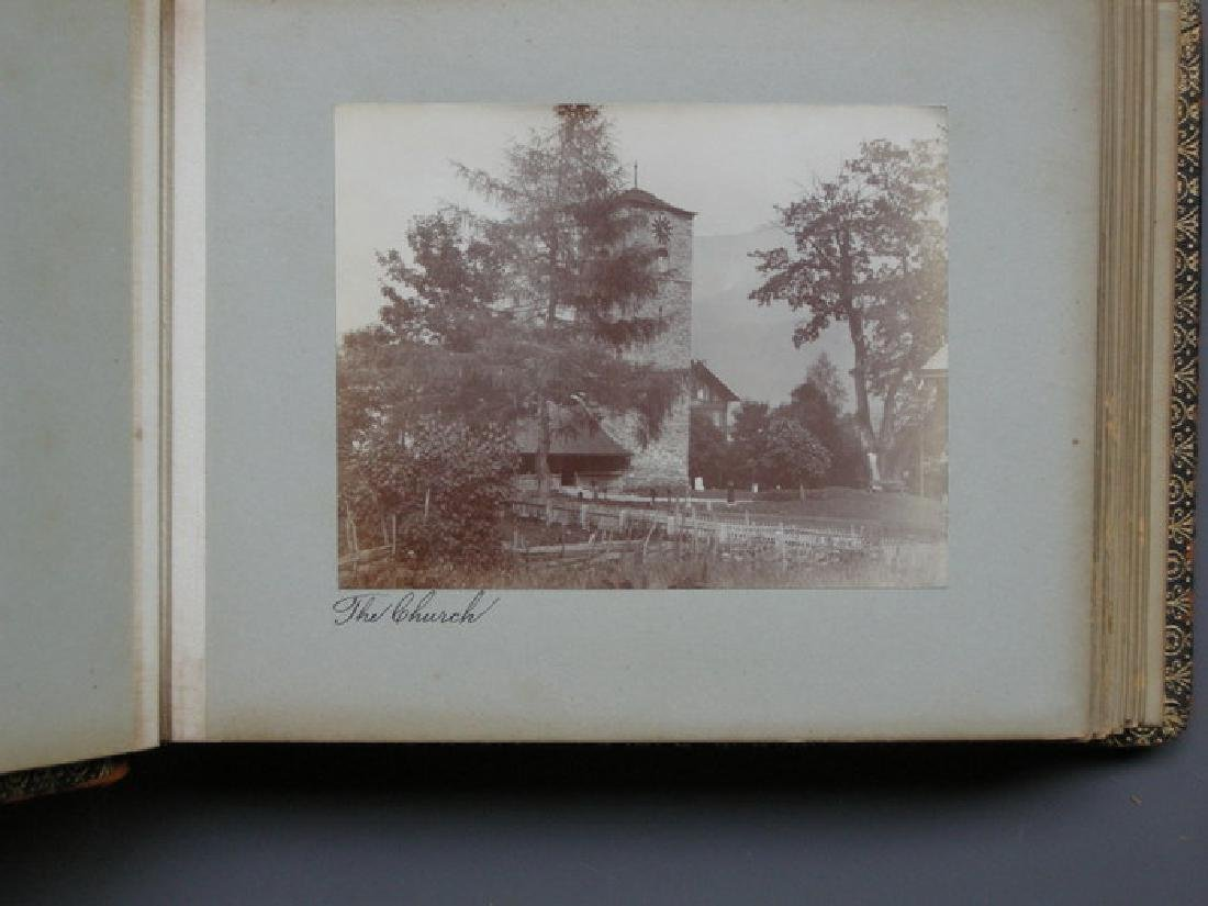 Photograph Album of Adelboden. 1902 - 7