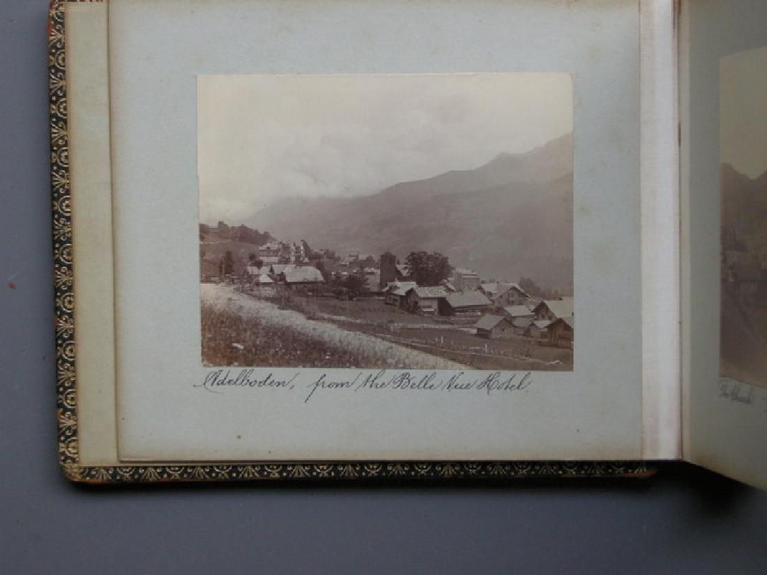 Photograph Album of Adelboden. 1902 - 8
