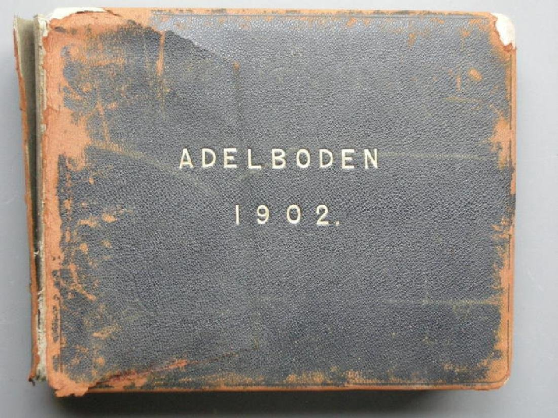 Photograph Album of Adelboden. 1902 - 9