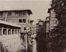 Srinuggur; A Merchant's House on the Marqual Canal