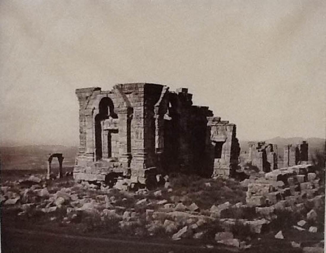 Ruins of Martund, from the North-East. c1865