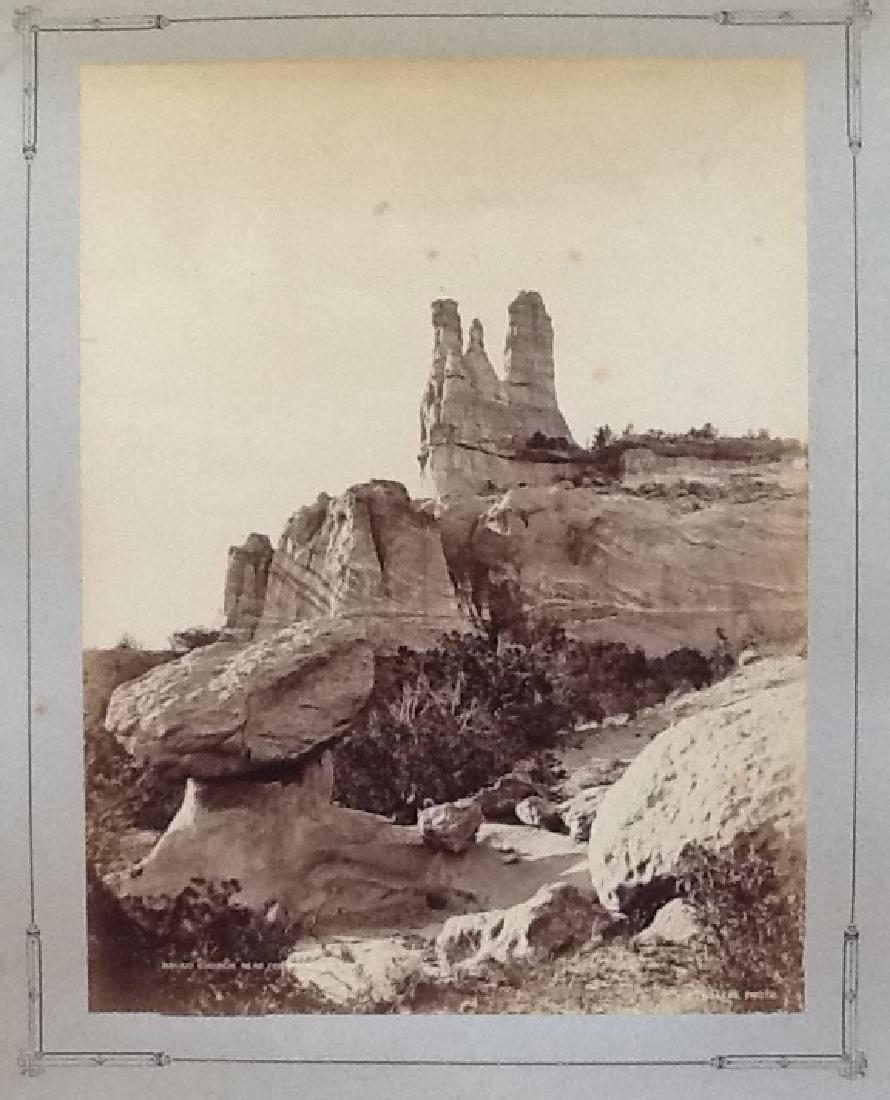 Navajo Church, near Fort, c1870.
