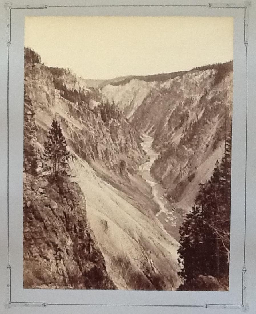 The Grand Canyon of the Yellowstone, c1870