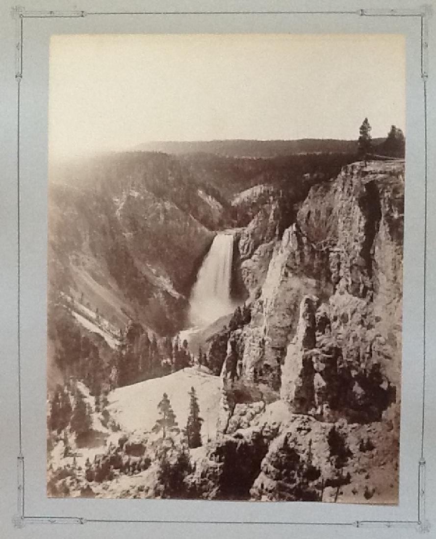 Lower Yellowstone Falls, Yellowstone. C187
