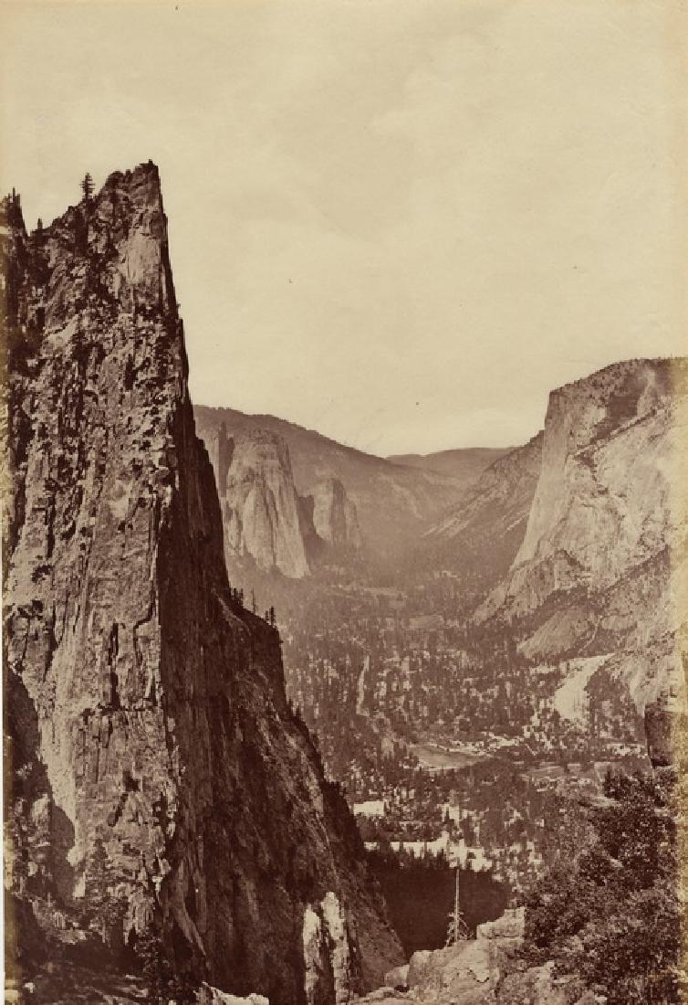 Sentinal Rock, Yosemite, California. c1865