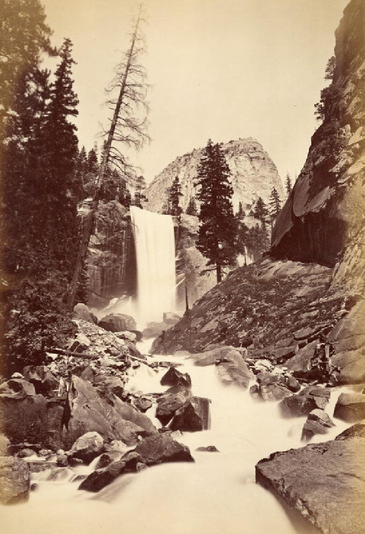 Piwyac, Vernal Fall, 300feet. Yosemite, California,
