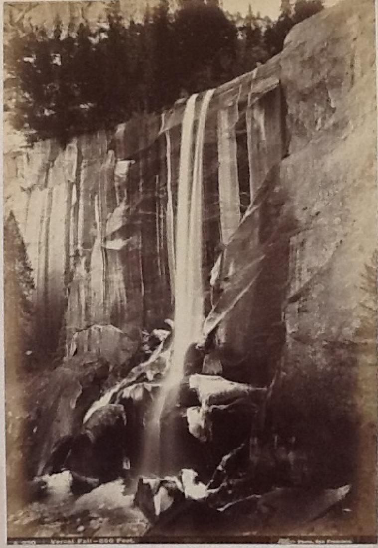 Vernal Fall, Yosemite,  350 feet. c1865