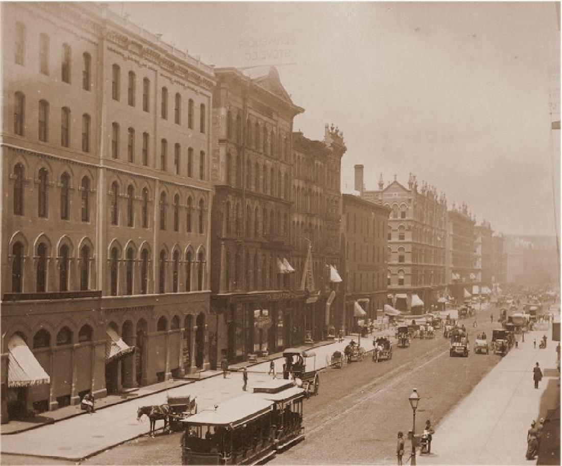 Wabash Avenue, Chicago, Illinois. c1875