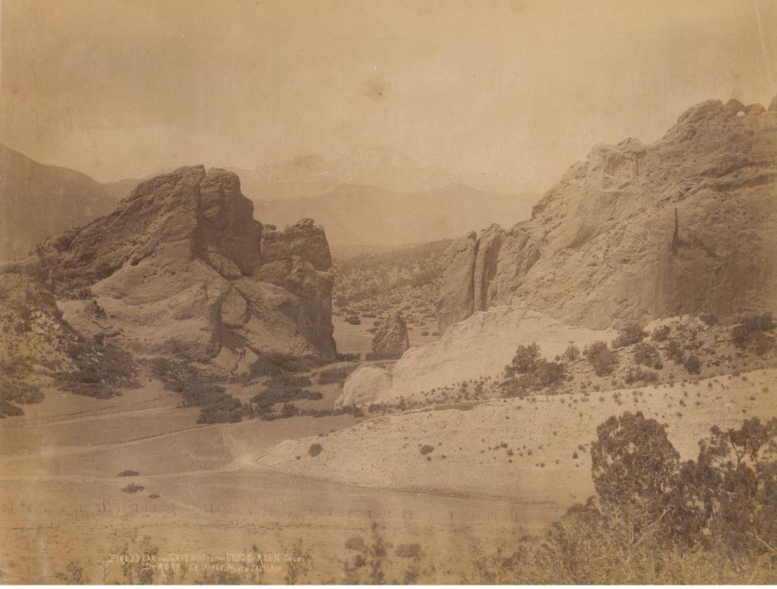 Pike's Peak and Gateway to the God's Garden,