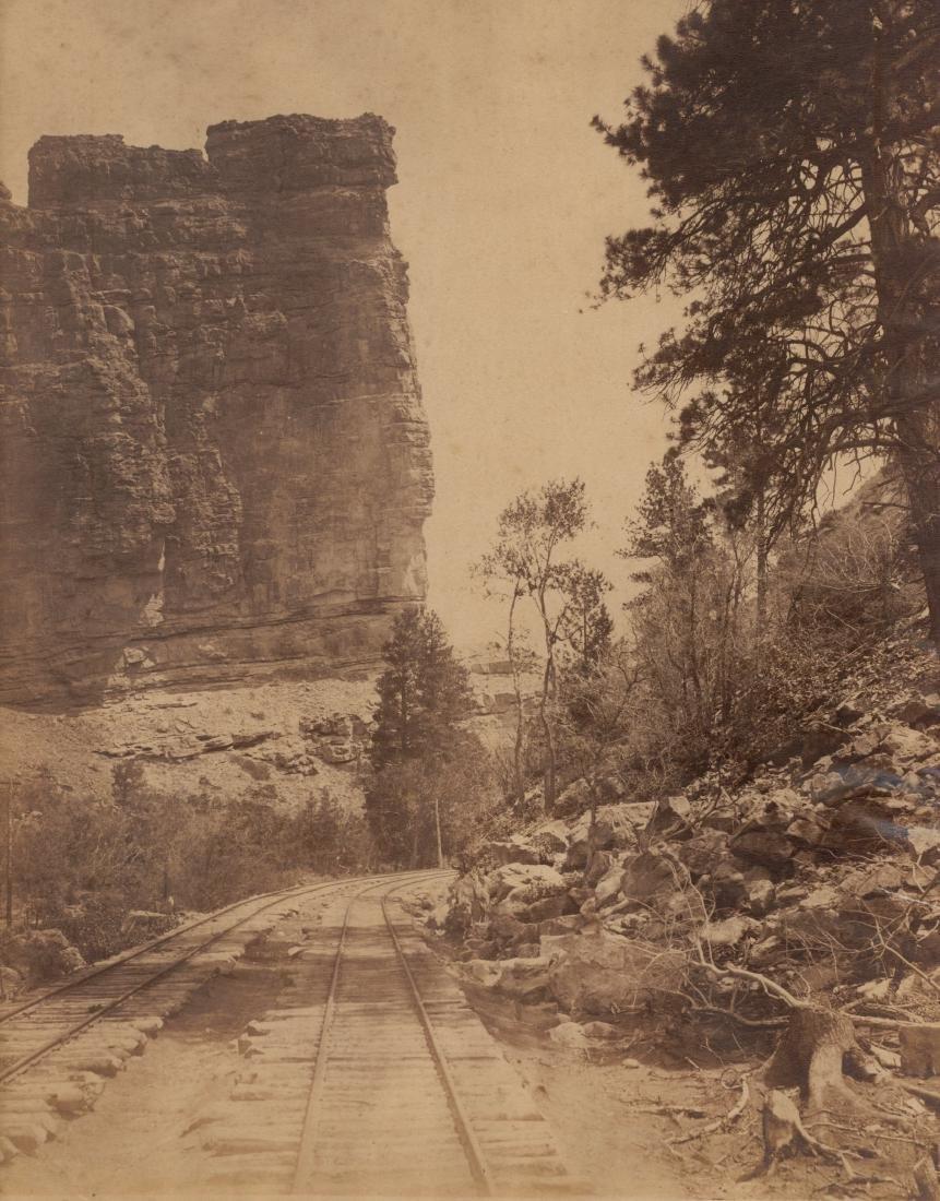 Castle Gate, Brice Canyon, Utah. C1890