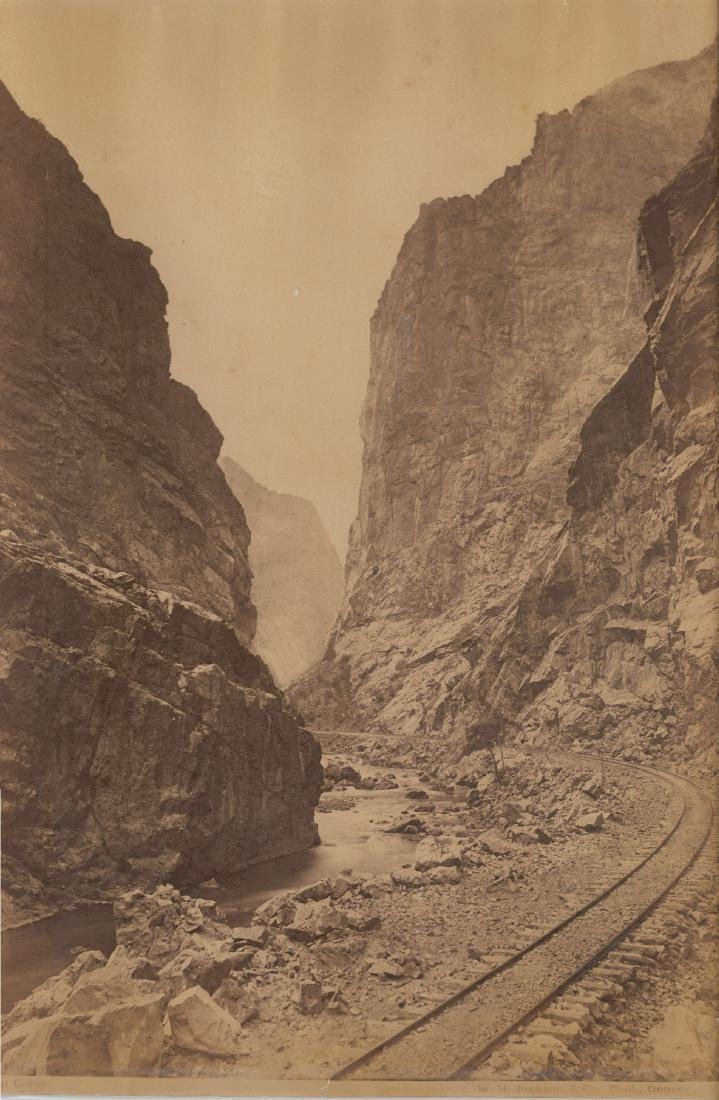The Royal Gorge (Grand Canyon of the Arkansas). c1880
