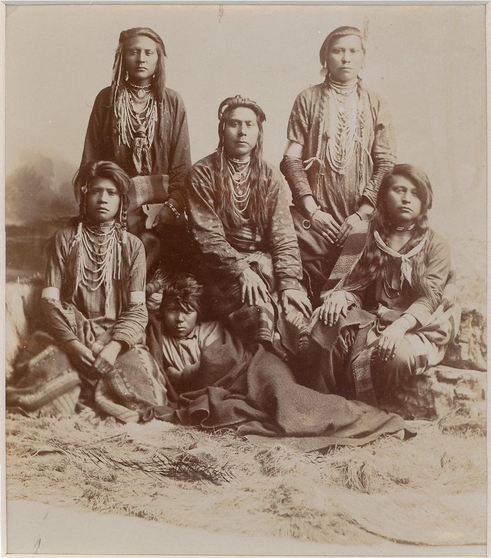 Ute Indians, Utah. C1895