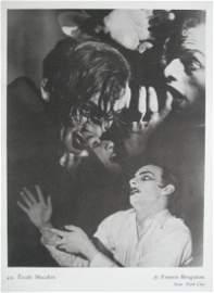 Etude Macabre by Francis Bruguiere, NYC. c1926