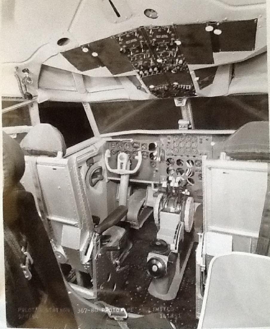 Unique Industrial Album of Boeing Dash 80 prototype