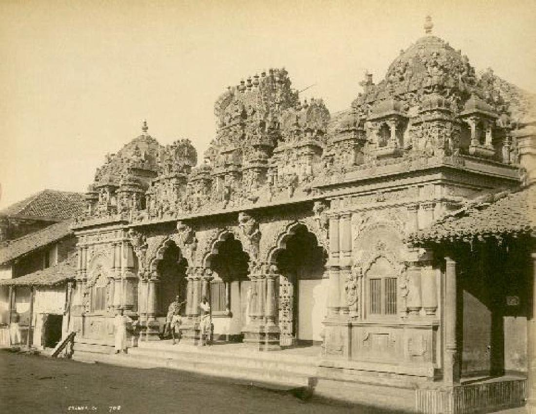 Hindu Temple, Colombo, Ceylon c1880