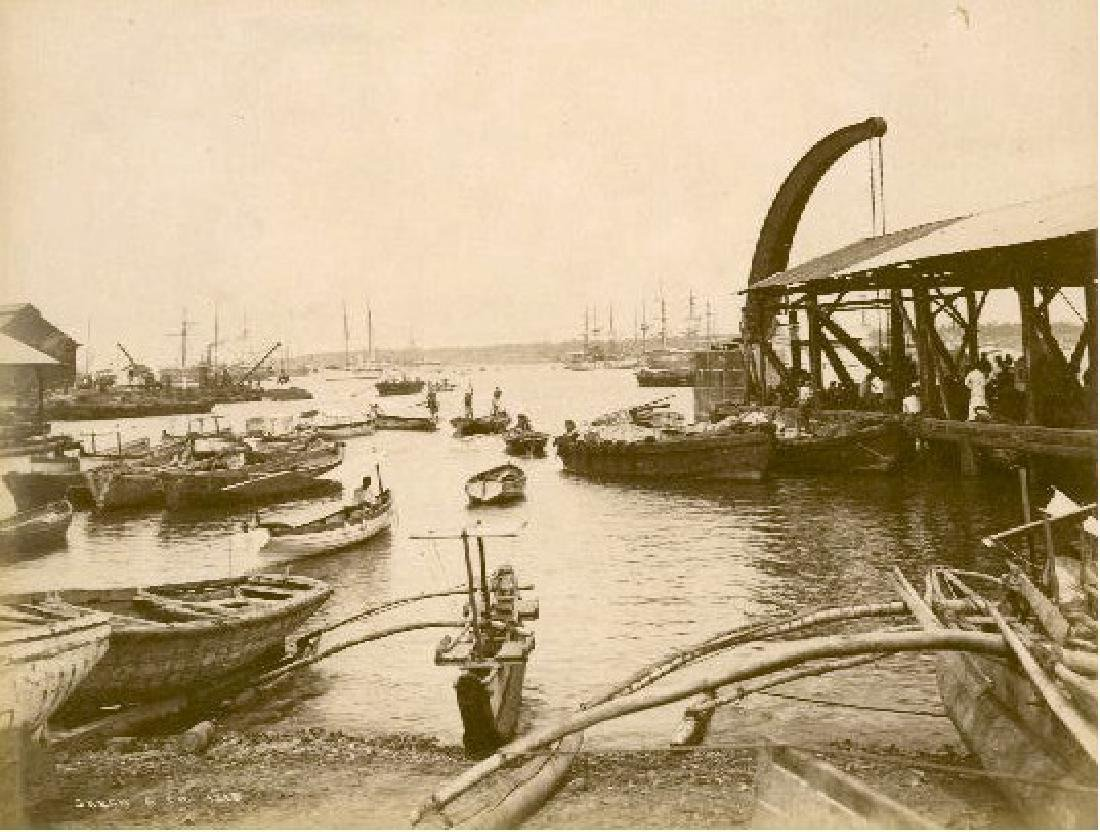 Colombo, Ceylon. The Landing Stage, c1870