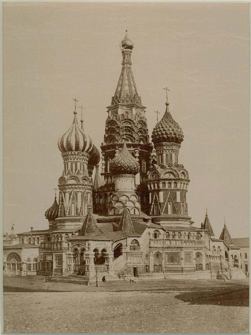 St. Basil Cathedral, Moscow, Russia. C1870