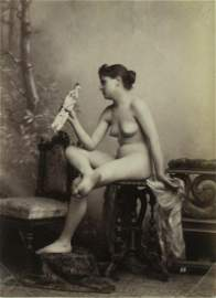 French Nude Study. C1880