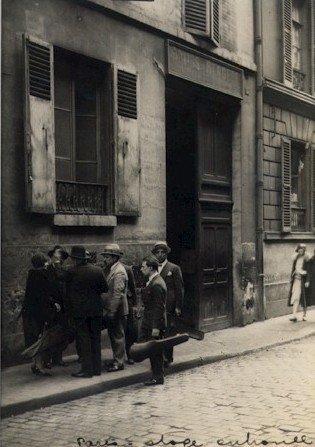 Paris, Folies Bergere Stage Entrance. c1920