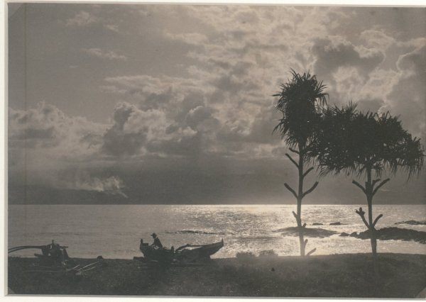 Pacific Sunset over Hawaii. C1920