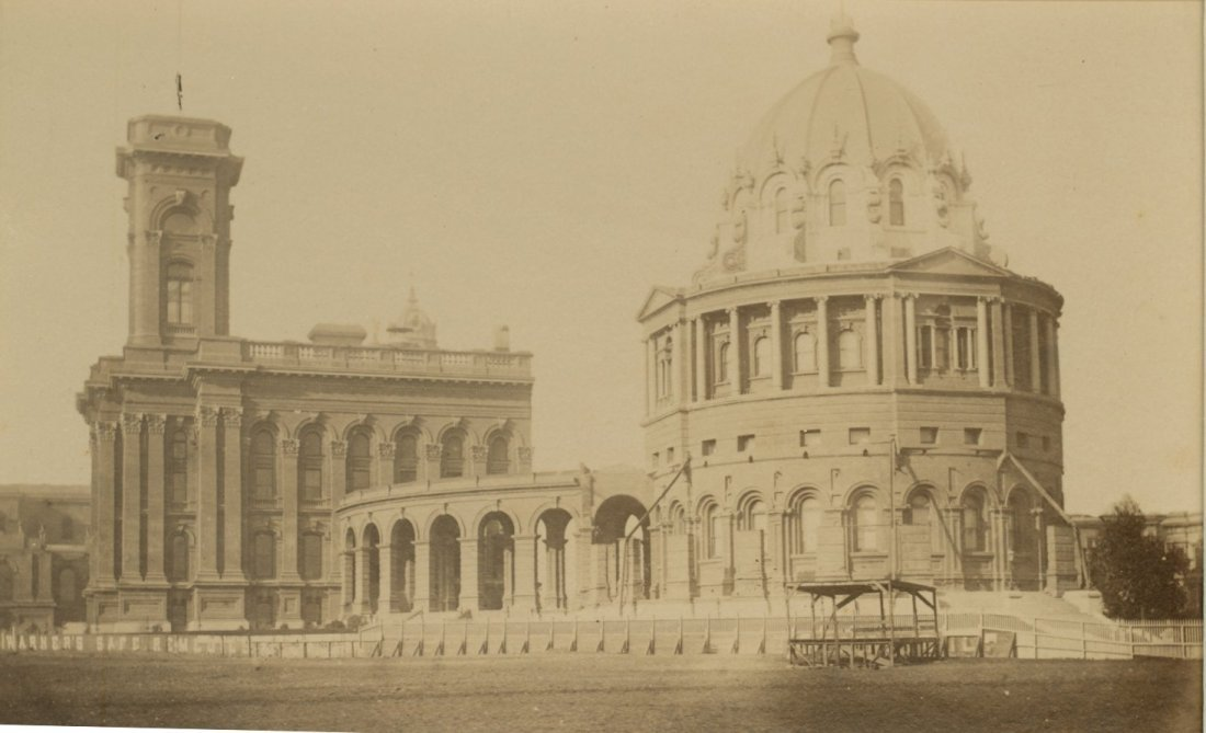 New City Hall & Sand Lot, San Francisco. c1885