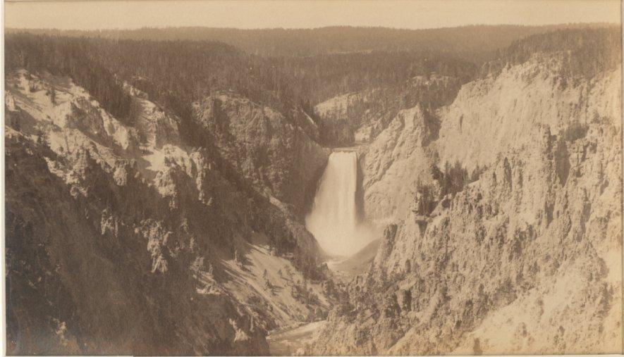 Yellowstone Falls, c1875