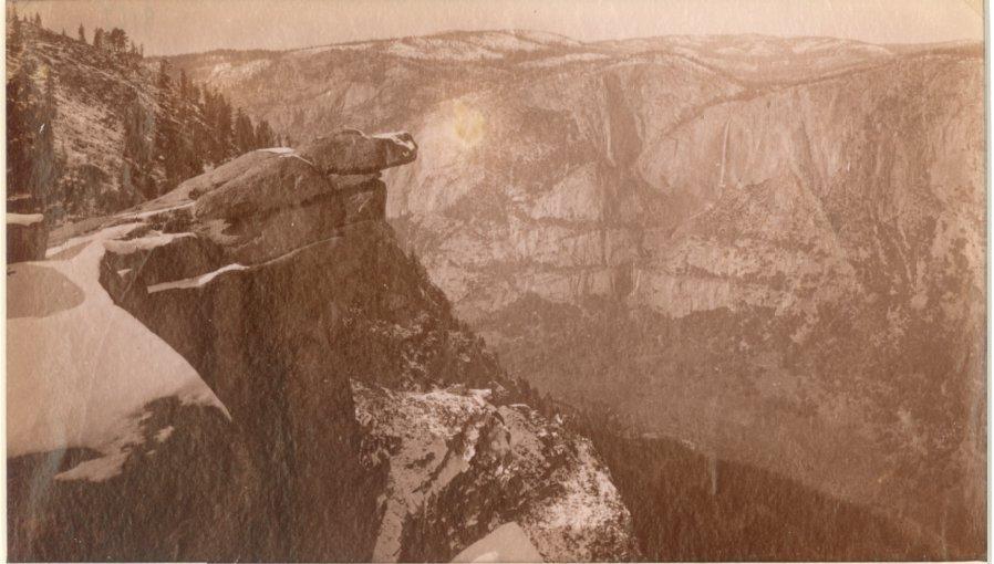 Yosemite Falls from Glacier Point, c1880