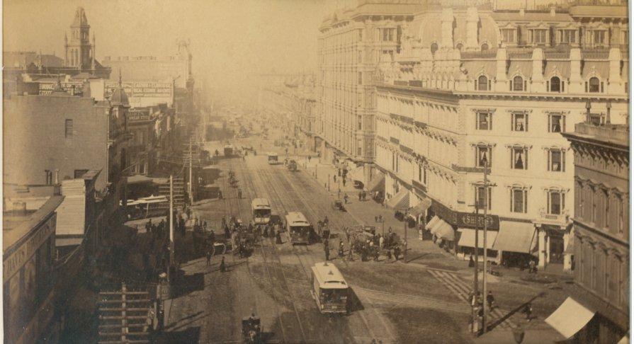 Market Street, San Francisco, CA, c1880