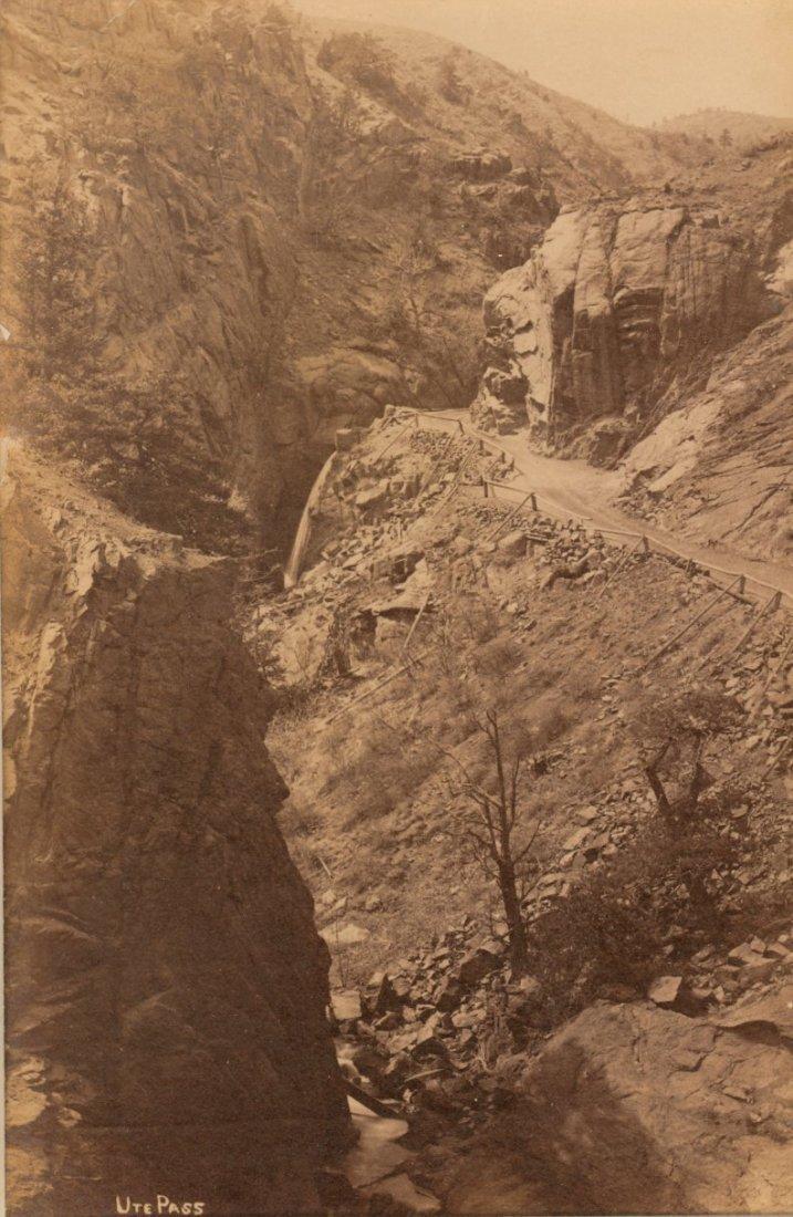 Ute Pass, Colorado by Willliam Henry Jackson. C1880