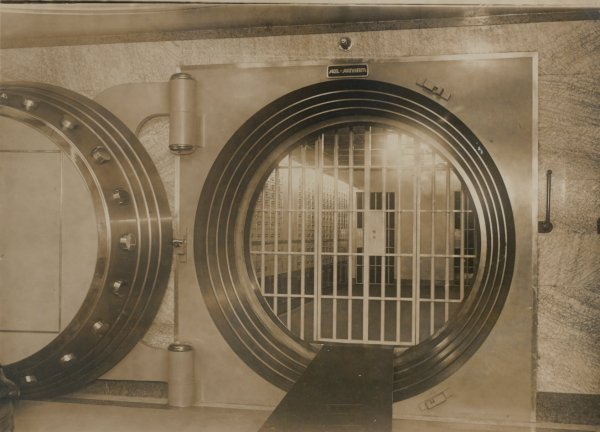 Bank Vault Door, Berliner Bank. C1950
