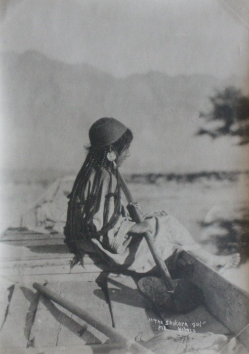 Shikara Girl. c1910