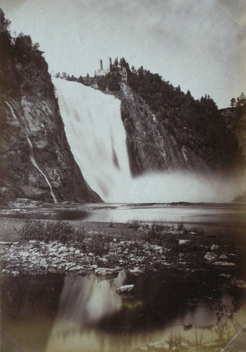 Montmorency Falls, Quebec, Canada. c1890