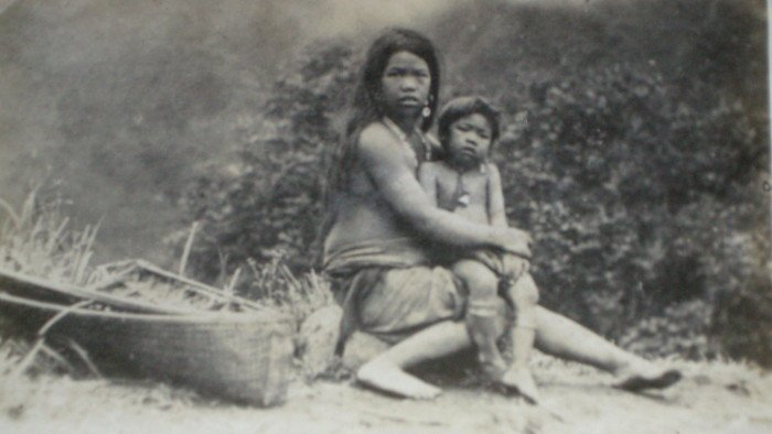 Philippine Mother and Child. c1920