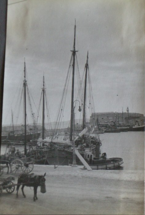 Fishing Boats in the Harbour (Havana?)