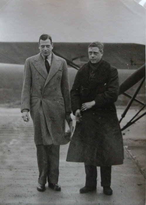 Prince Edward (later Edward VIII) and Prince George