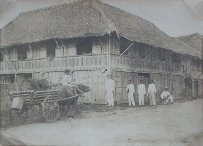 Philippines - The house that burned. c1903