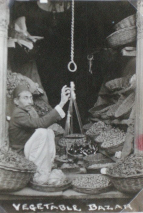 Vegetable Bazaar. c1920