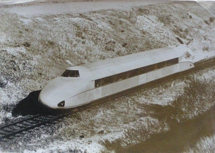 SchienenZeppelin - High Speed Rail Transport. c1931