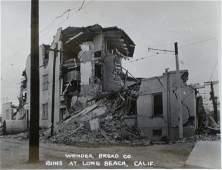Wonder Bread Co. Ruins, Long Beach Earthquake. c1933