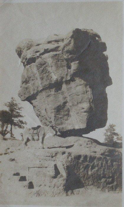 Balancing Rock, Garden of the Gods. c1920