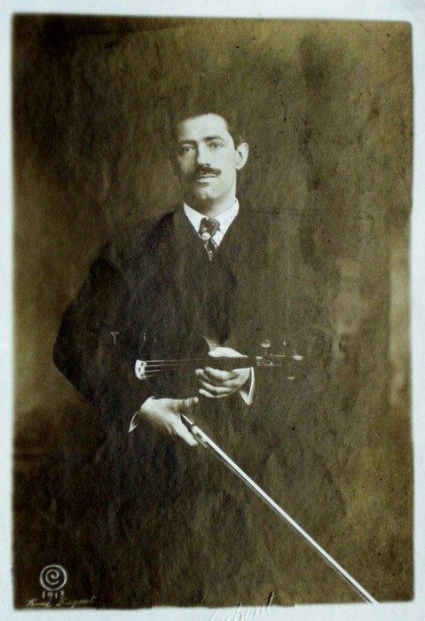 Fritz Kreisler, Violinist, Symphony Hall, Boston. C1910