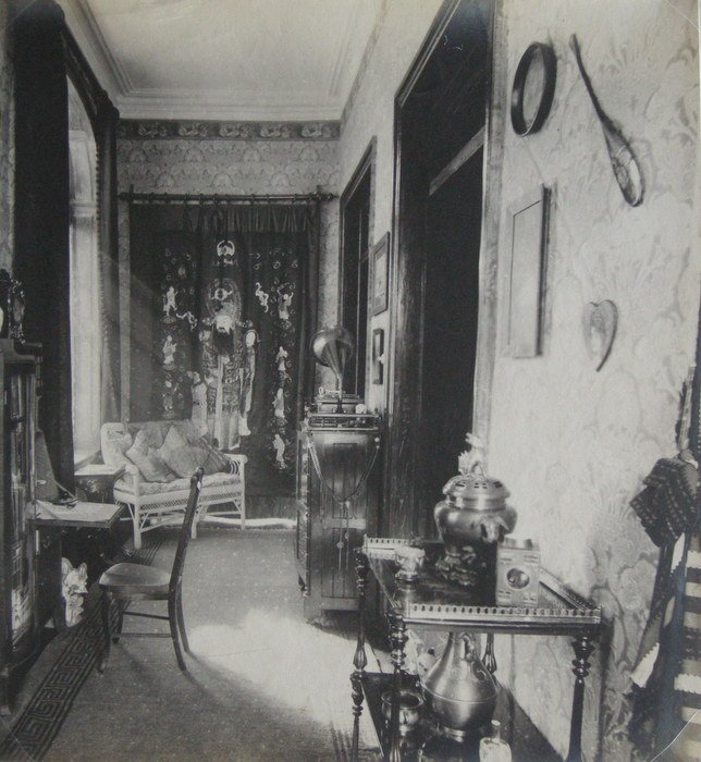 Interior of a House in Shanghai. c1910