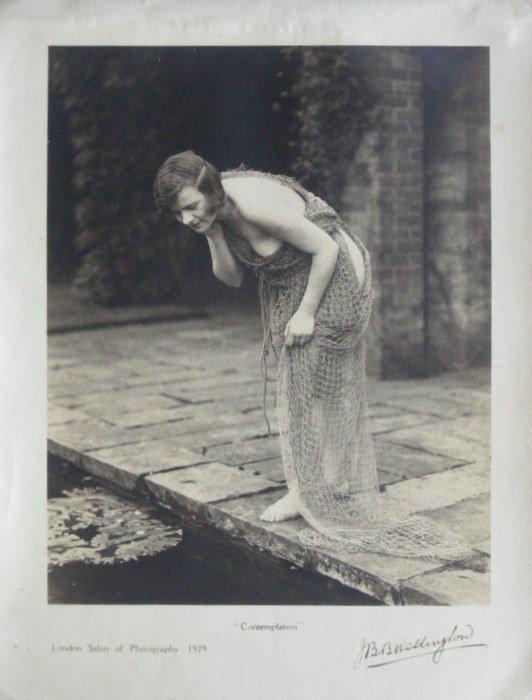 Contemplation by J. B. Wellington. c1929