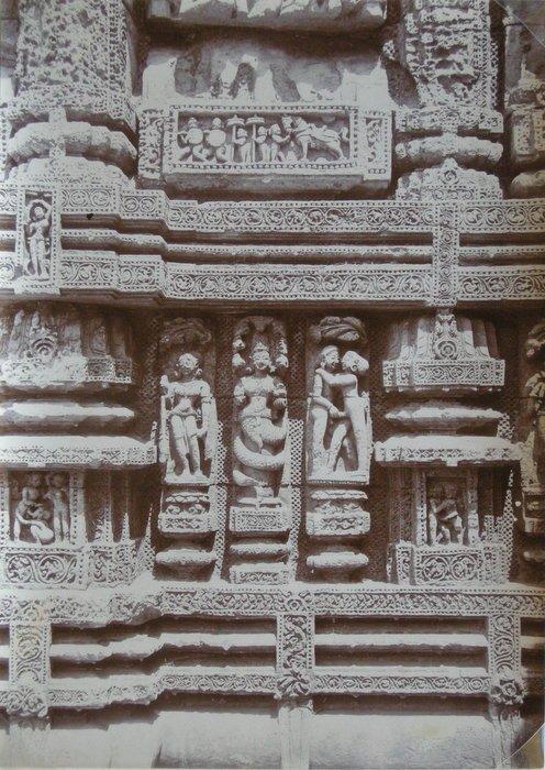 Erotic Sculpture at Puri, India. c1920