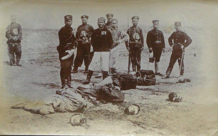 Chinese Beheading Pirates