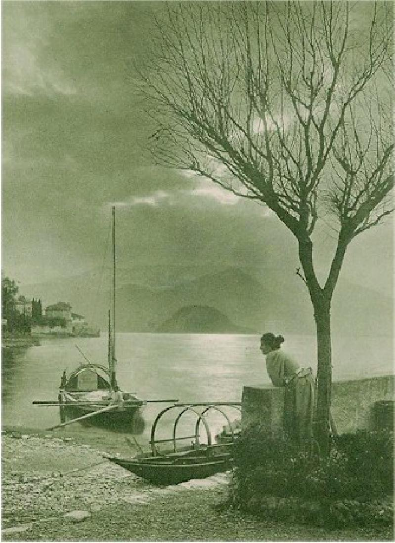 Am Comer See. By M. Andreossi. C1901
